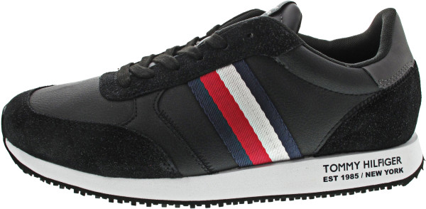 Tommy Hilfiger Runner Lo Leather Mix