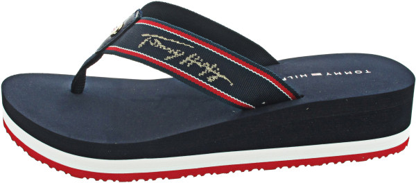Tommy Hilfiger Mid Wedge Beach Sandal