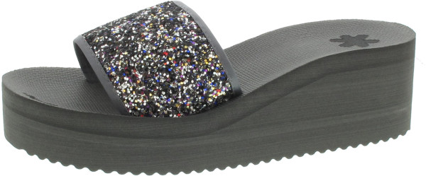 flip*flop Pool Wedge Glitter