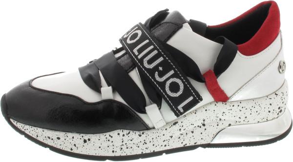 Pertenece Cinemática Gracias  LIU JO Karlie 03 Sneaker weiss #25018001.36 | SCHUH-Germann