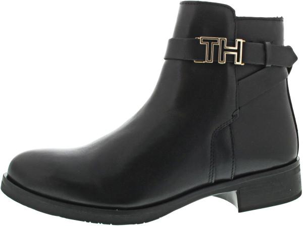 Tommy Hilfiger Hardware Leather Flatboot