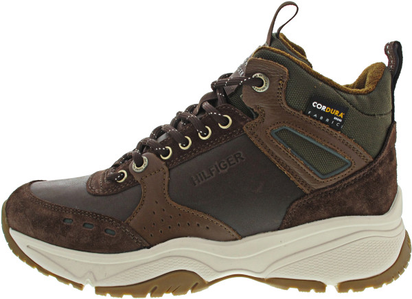 Tommy Hilfiger High Sneaker Boot Leather